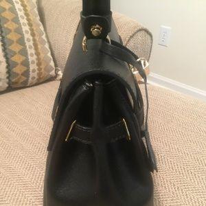 Handbags - ITALIAN BLACK LEATHER 35CM BIRKIN INSPIRED BAG